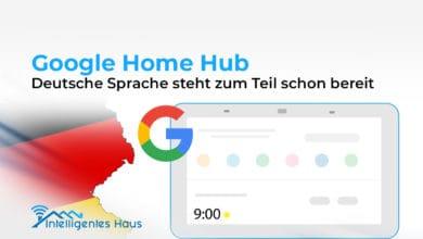 Google Home Hub versteht Deutsch