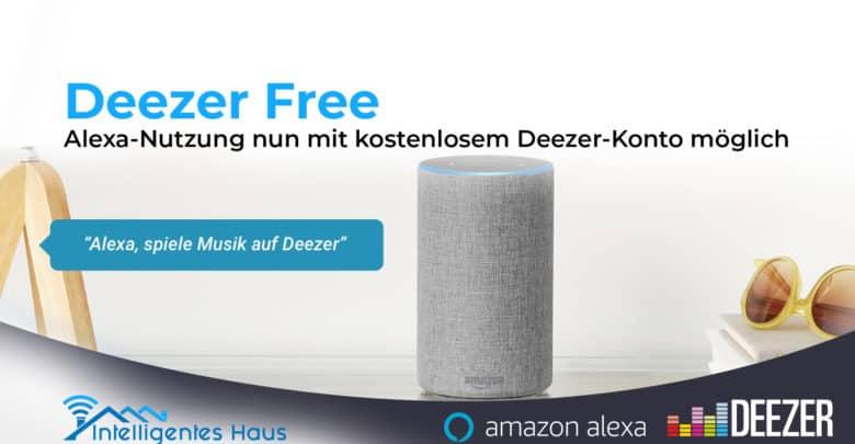Alexa Nutzung mit Deezer Free