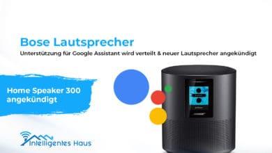 Google Assistant für Bose Lautsprecher