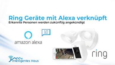 Ring erkennt Personen - Weiterleitung an Alexa