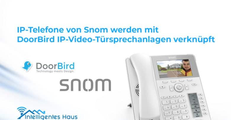 Snom und DoorBird Kooperation