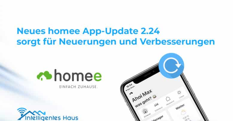 App Update Homee