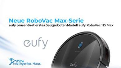 RoboVac Max-Serie von eufy