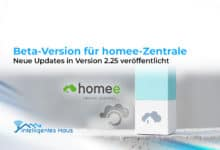 Beta-Version homee-Zentrale