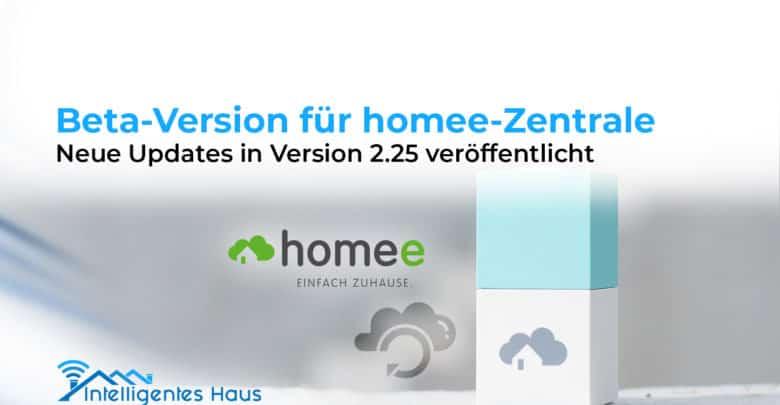 Beta-Version homee-Zentrale