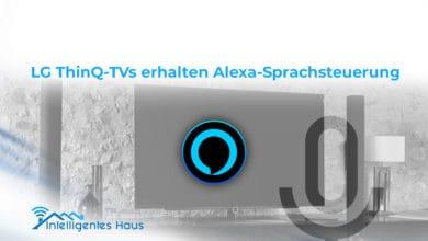 Alexa-Integration in LG ThinQ-TVs