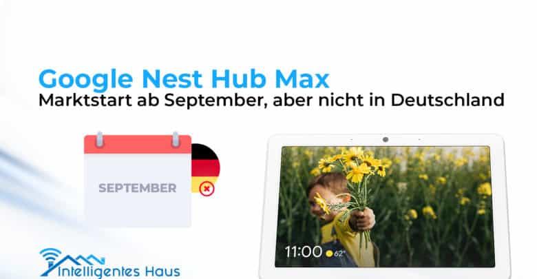 Google Nest Hub Max Germany