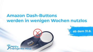 Amazon Dash-Buttons funktionslos