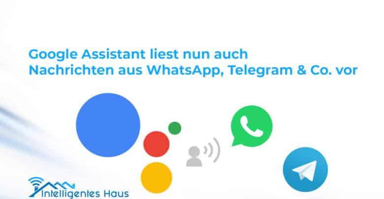 WhatsApp, Telegram und mehr
