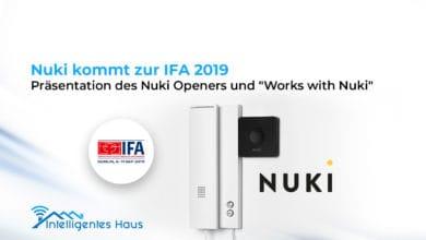 Nuki Opener auf der IFA