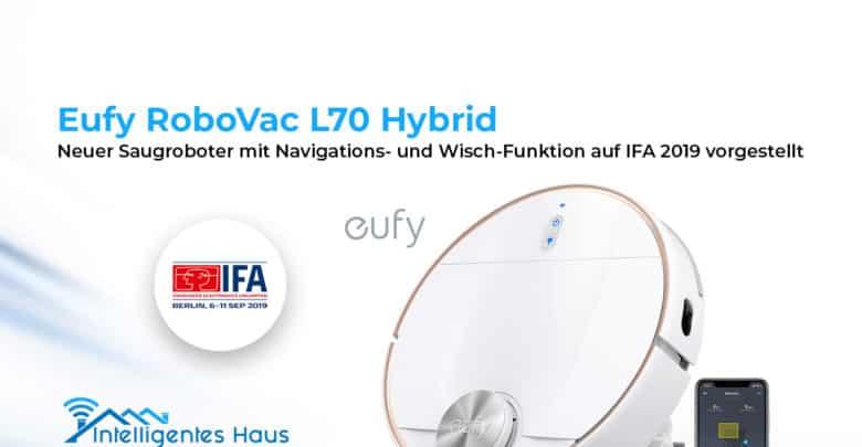 eufy RoboVac l70 Hybrid vorgestellt
