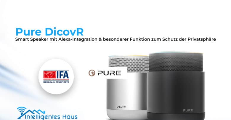Pure DicovR Smart Speaker