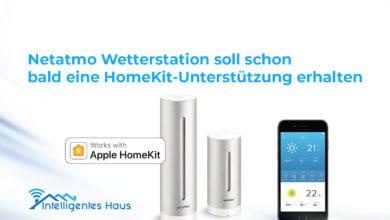 HomeKit-Update für Netatmo Wetterstation