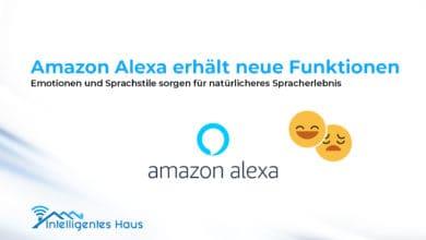 Emotionen und Sprachstile für Alexa