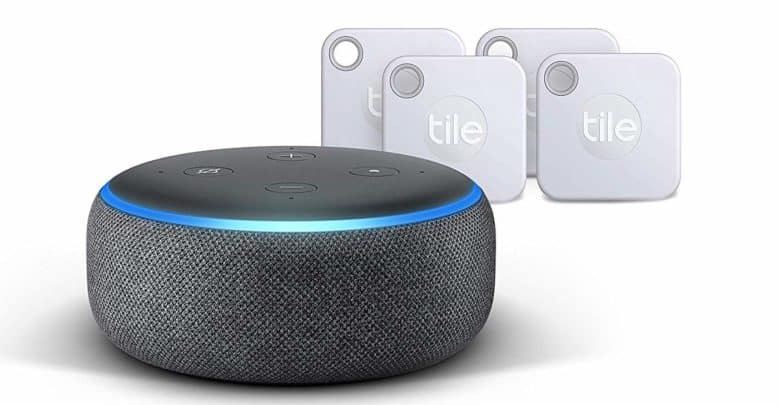 Amazon und Tile