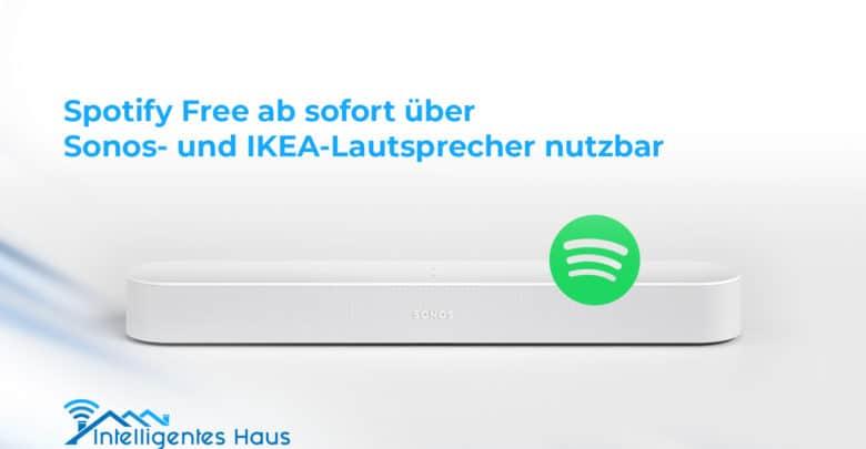 Spotify für Sonos und Ikea Lautsprecher