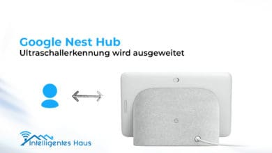 Nest Hub Ultraschallfunktion