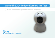 Photo of ACME Full HD Indoor IP-Kamera ACME IP1204 getestet