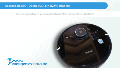 Photo of Ecovacs DEEBOT OZMO 920: Ein OZMO 950 lite