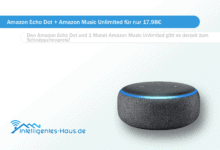 Photo of Amazon Echo Dot + Amazon Music Unlimited für nur 17,98€