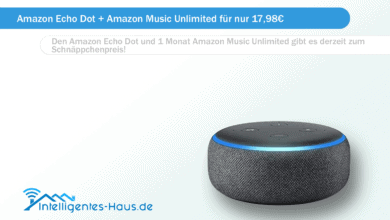 Bild von Amazon Echo Dot + Amazon Music Unlimited für nur 17,98€